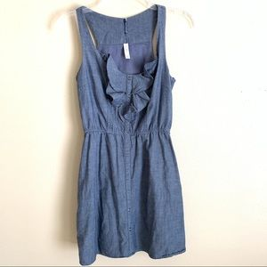 Xhilaration sleeveless denim dress with pockets